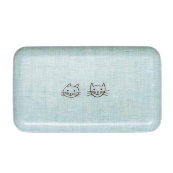 Fog Linen Bunny and Kitty Tray