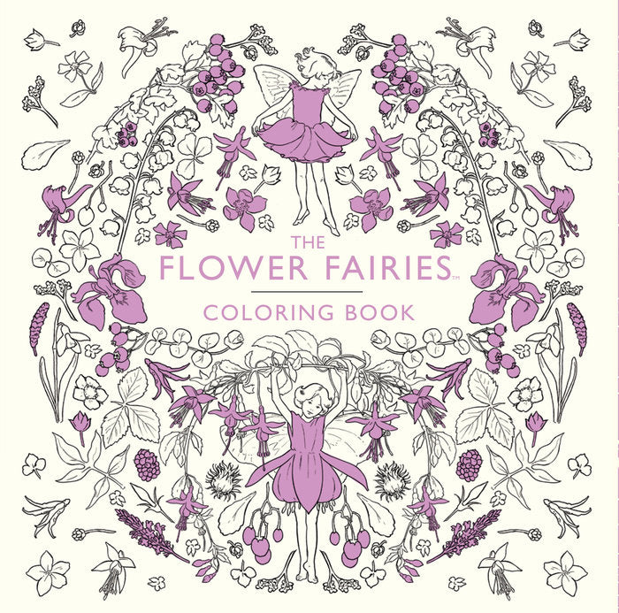 The Flower Fairies Coloring Book