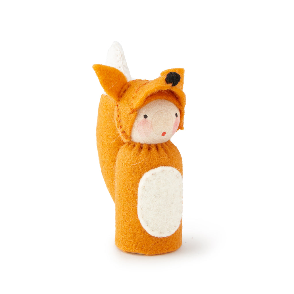 Peg Doll in Fox Costume