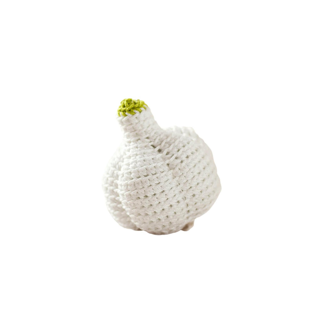 Crocheted Garlic Set