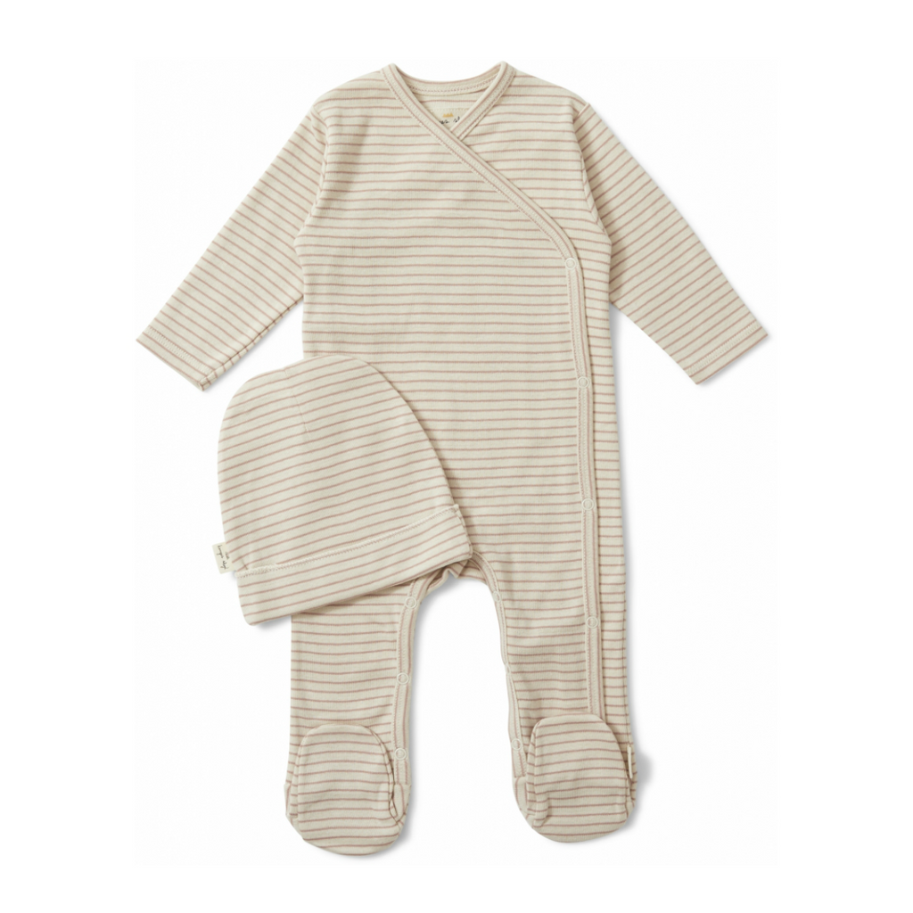 Konges Sløjd Rose Striped Newborn Set