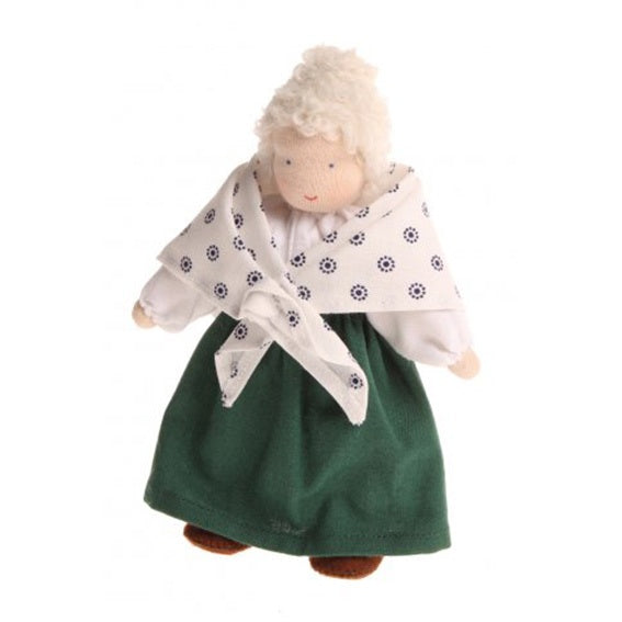 Waldorf Grandmother Dollhouse Doll