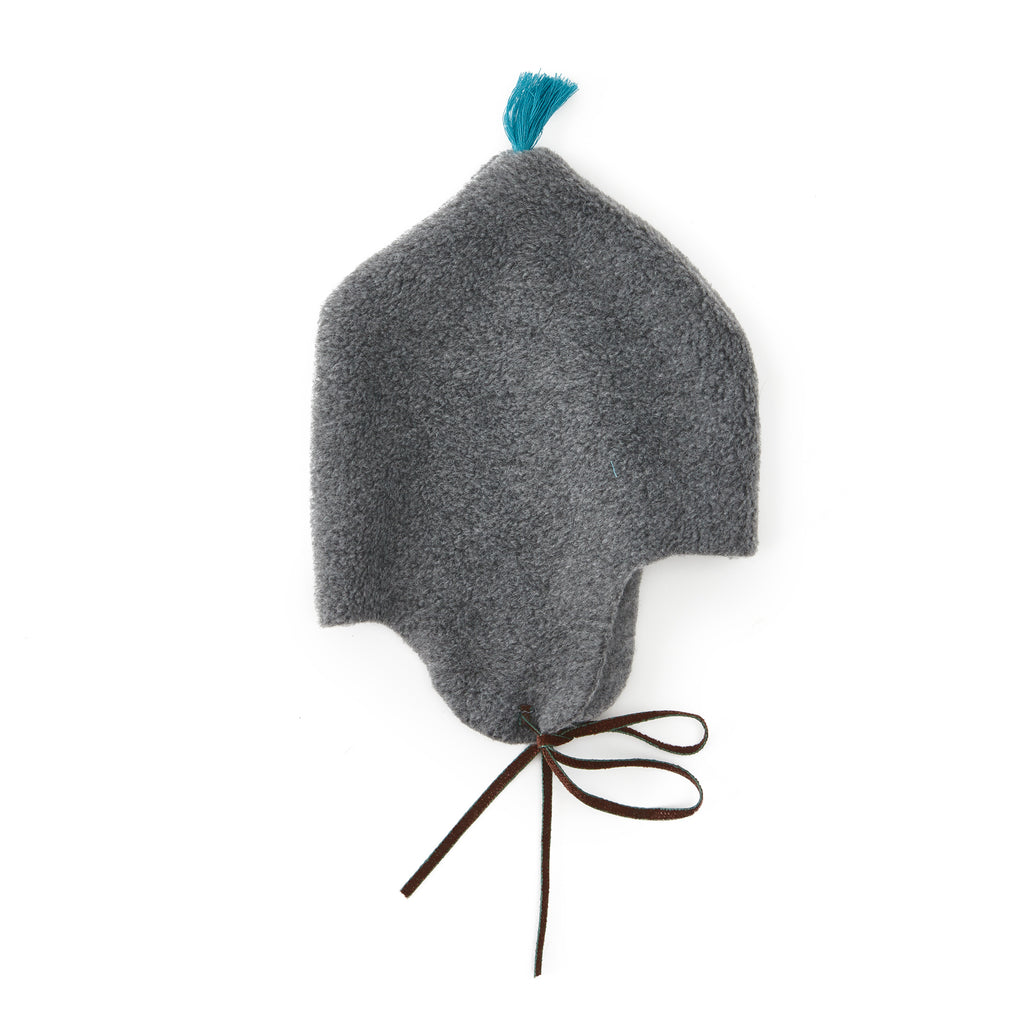 Makie Grey Fleece Hat