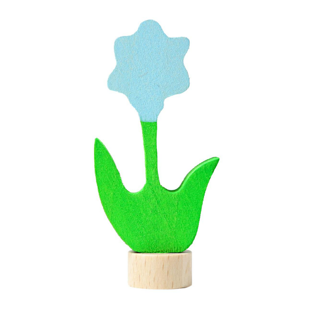 Grimm's Blue Flower Figurine