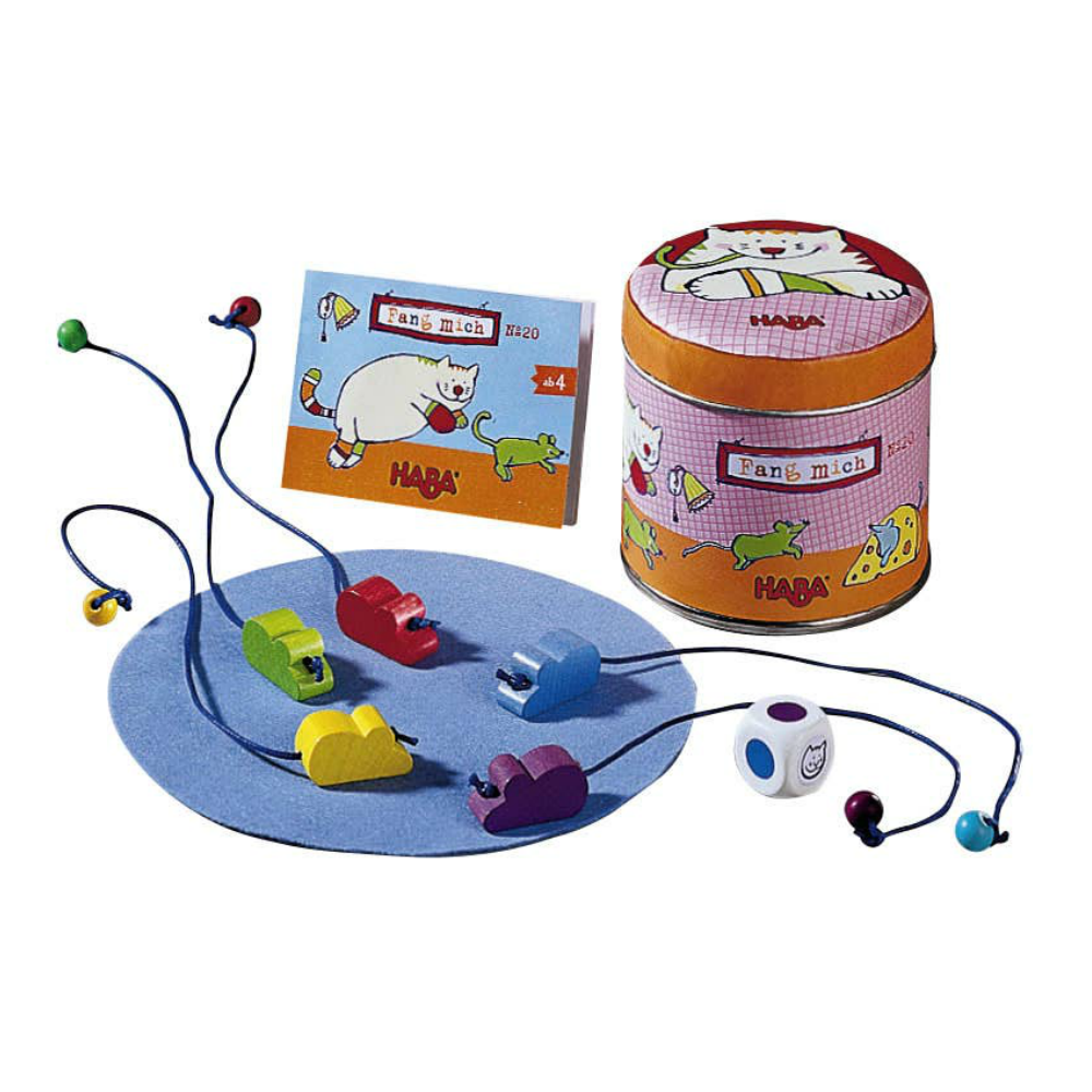 Haba Cat and Mouse Chase Mini Game
