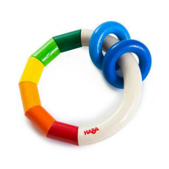 Haba Wooden Ring Rattle