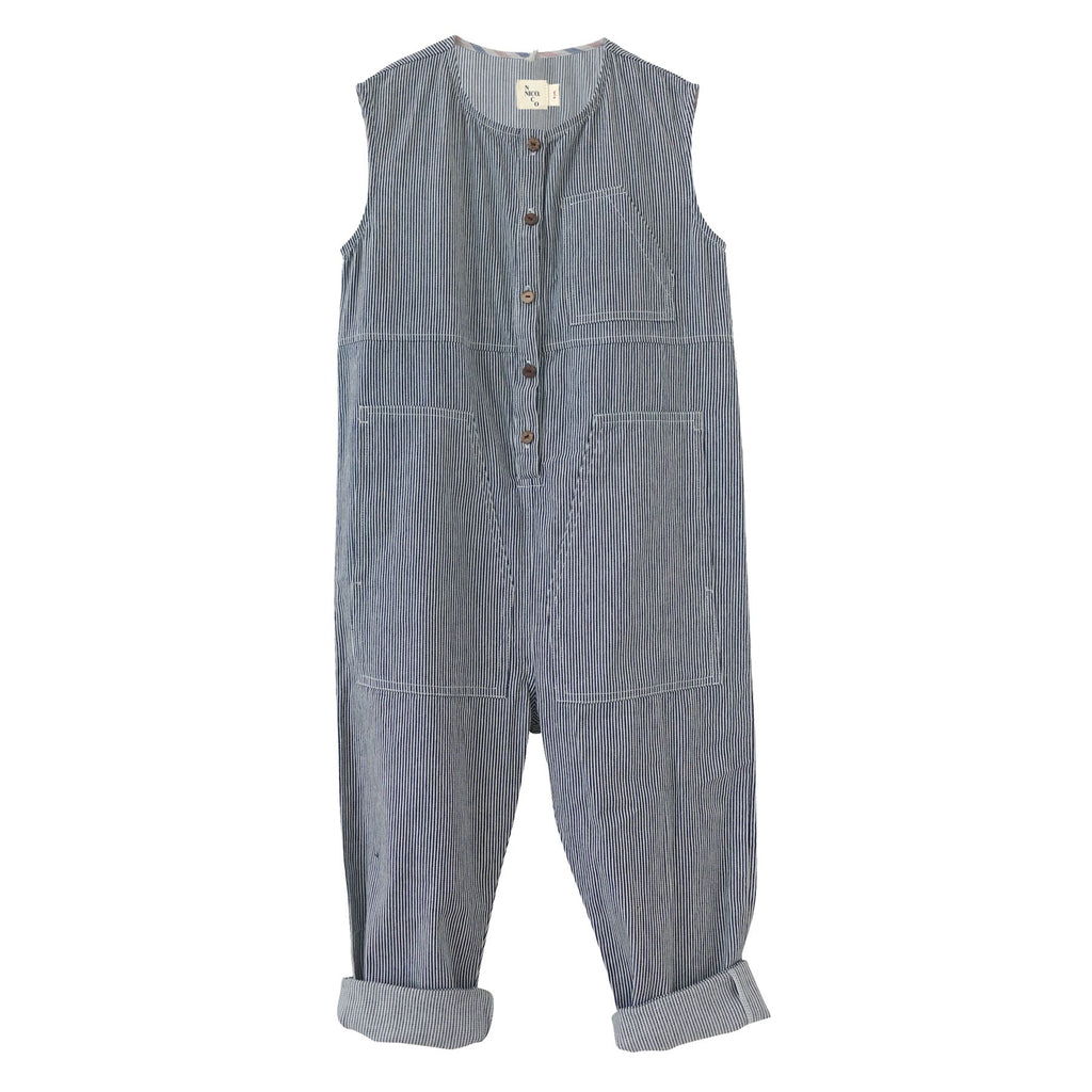 Nico Nico Railroad Jumpsuit