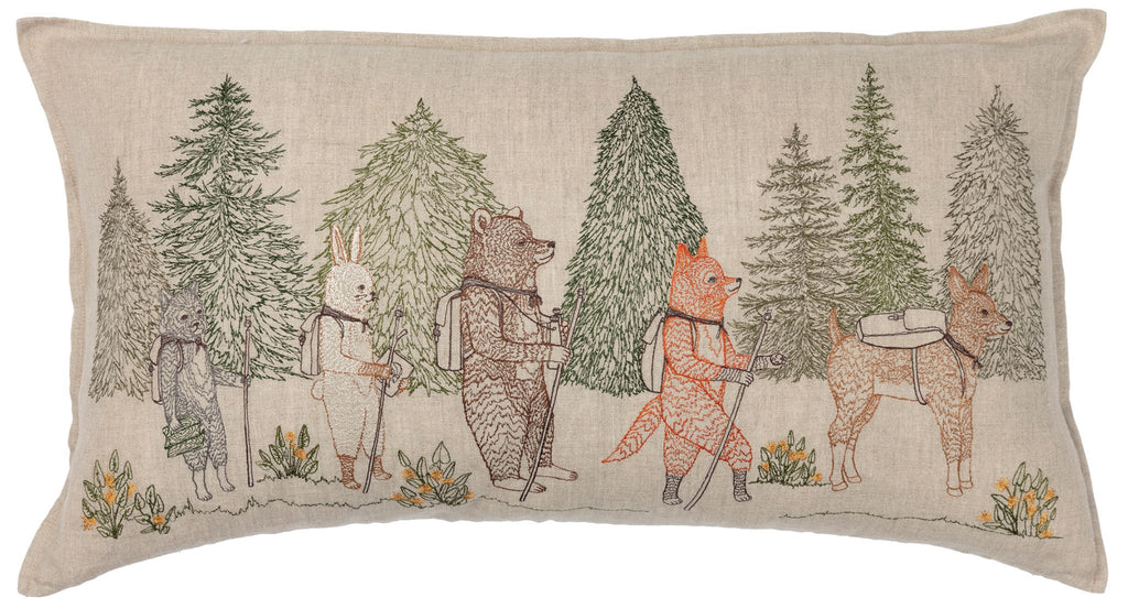 Coral and Tusk Hiker's Pillow