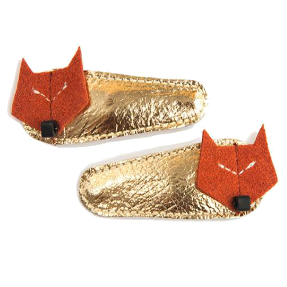 Hello Shiso Fox Hair Clips