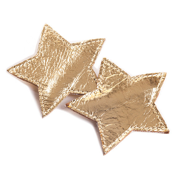 Hello Shiso Star Hair Clips - Silver
