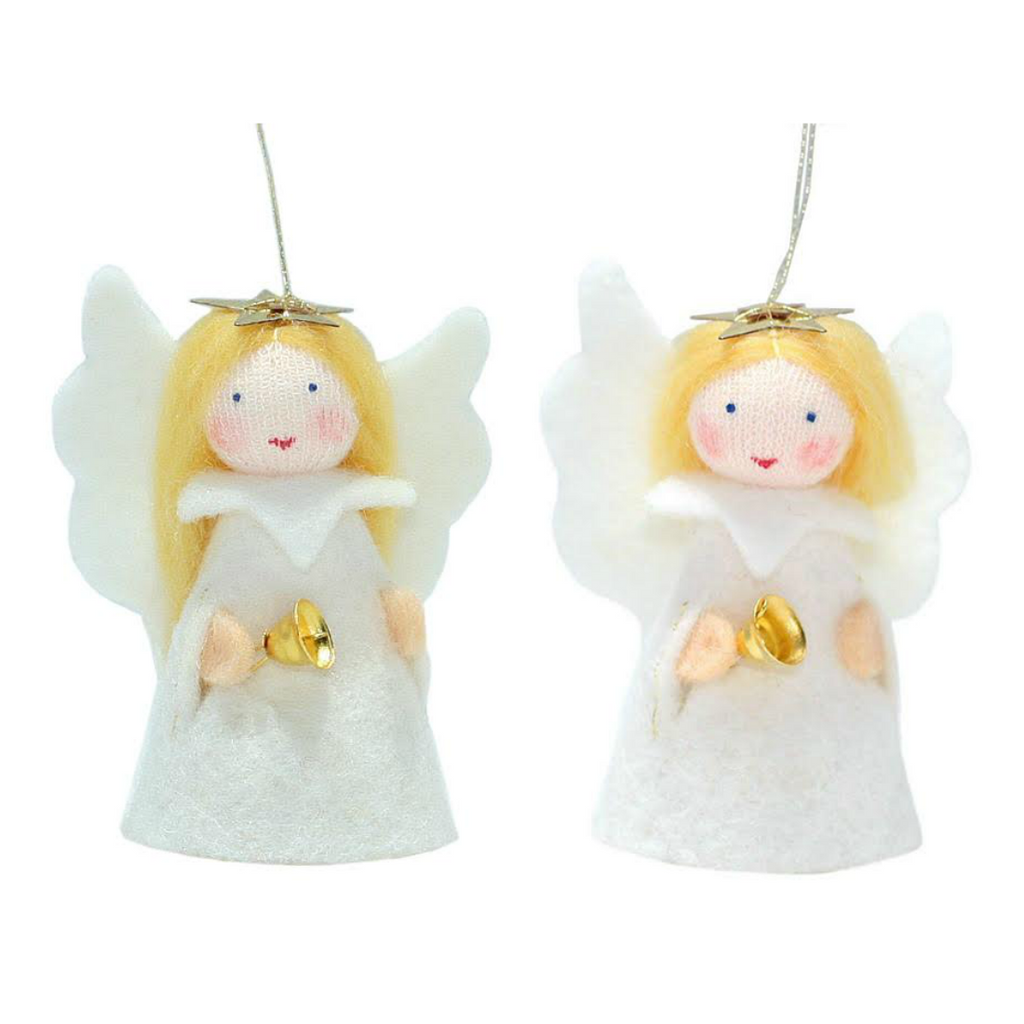 Jingle Bell Angel Ornaments