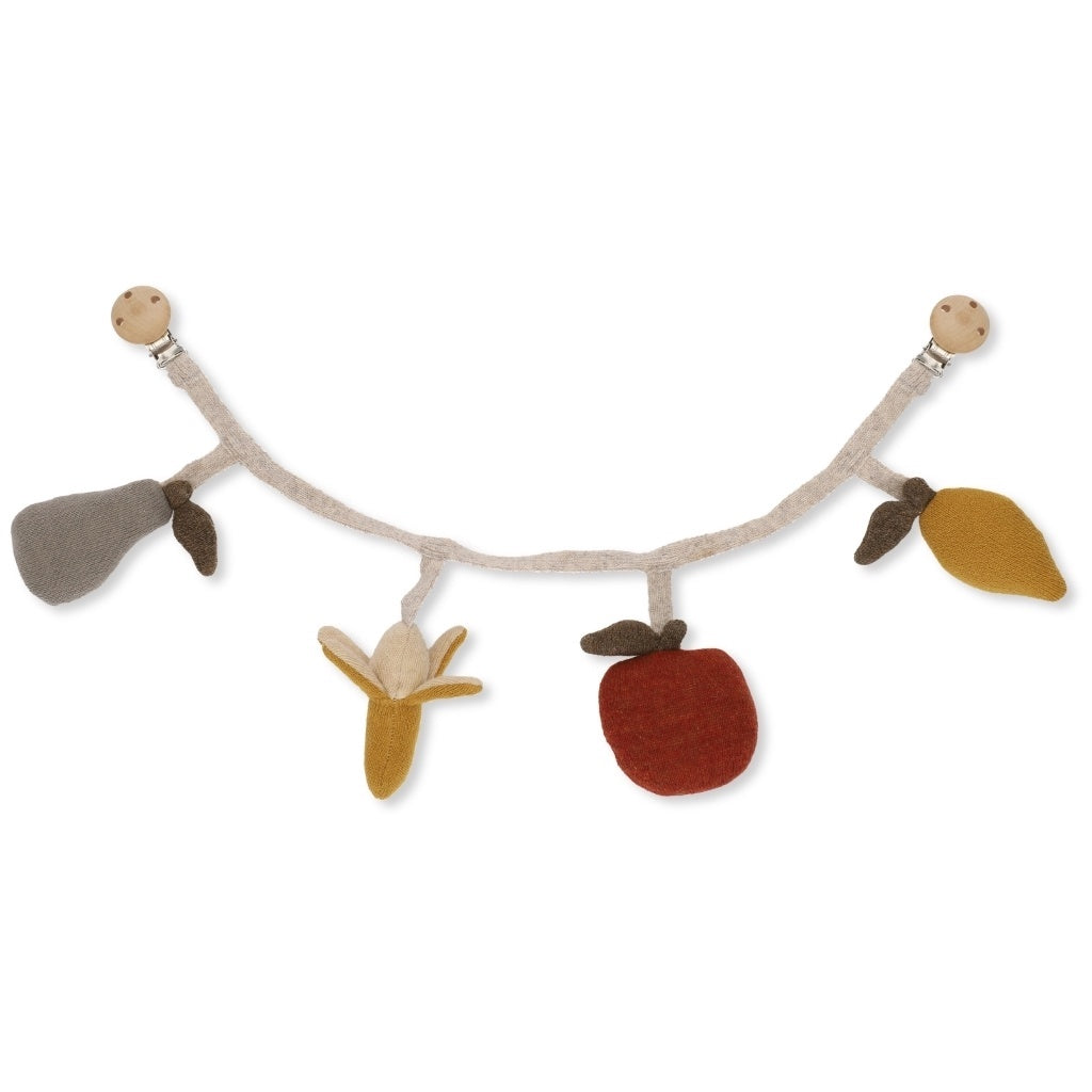 Konges Sløjd Fruit Chain Stroller Toy