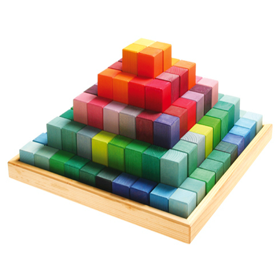 Large Stepped Pyramid Block Set