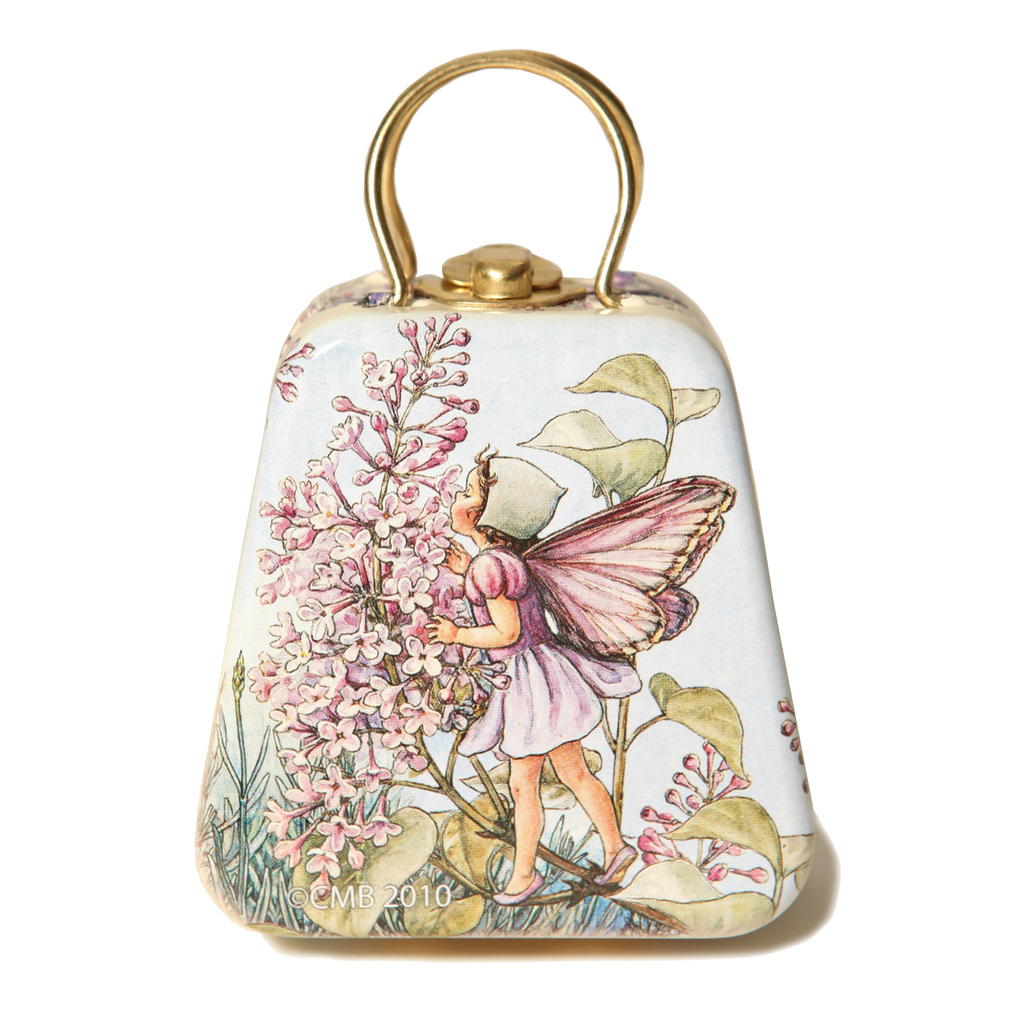 Lilac Flower Fairy Tin Mini Purse
