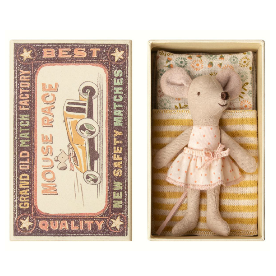 Maileg Matchbox Mouse · Little Sister