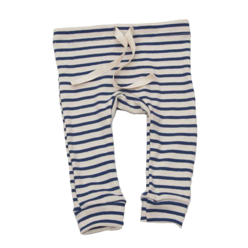 Mabo Blue Striped Leggings