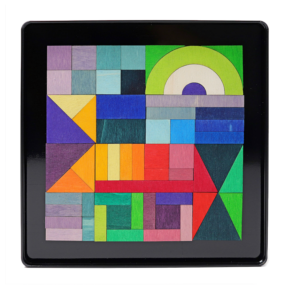 Grimm's Magnetic Geometric Shapes Set