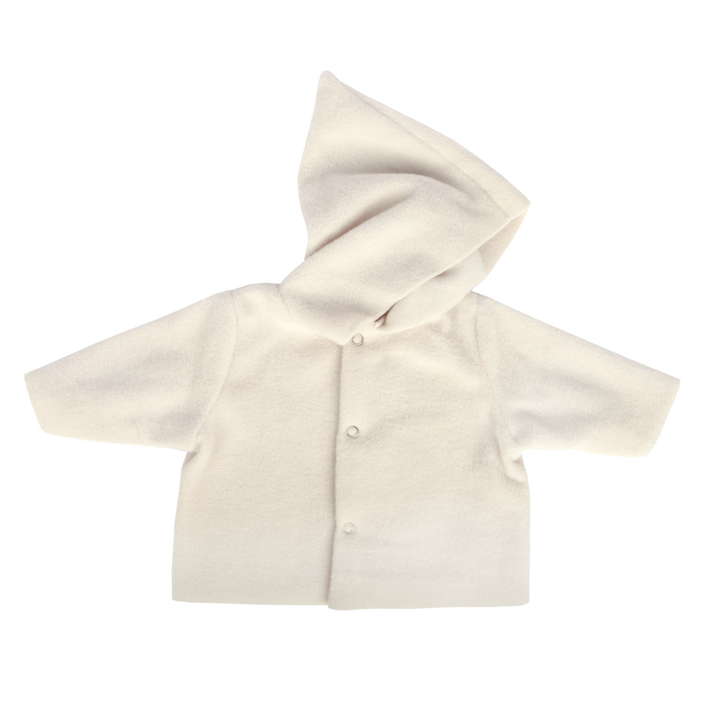 Makie Ivory Fleece Hoodie