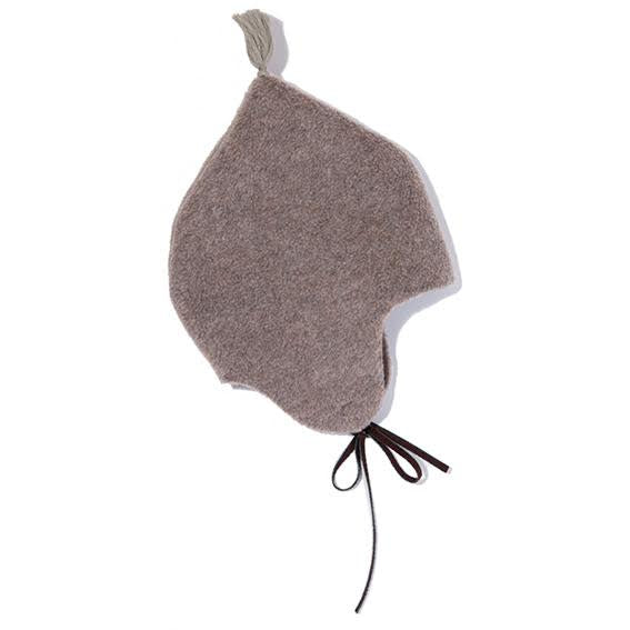 Makie Grey Fleece Hat - 4-6 years