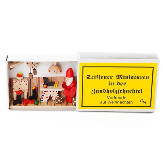 Santas Workshop Decorative Matchbox