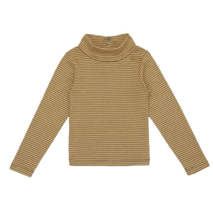 Misha and Puff Mini Stripe Turtleneck