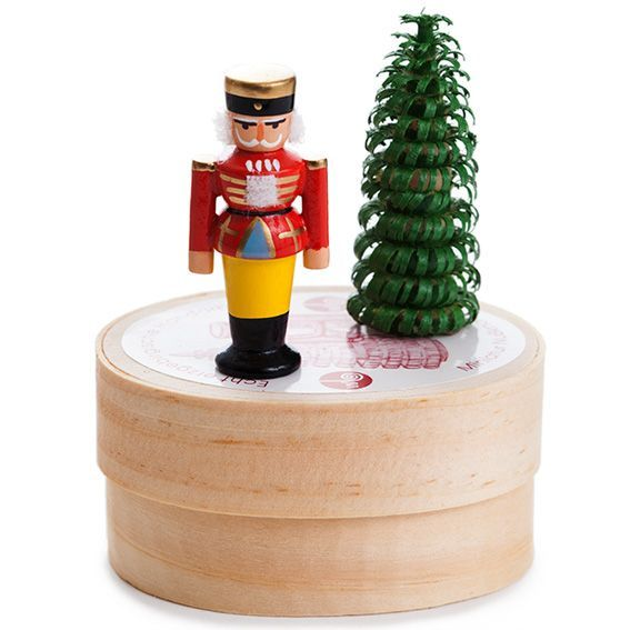 Miniature Nutcracker and Tree