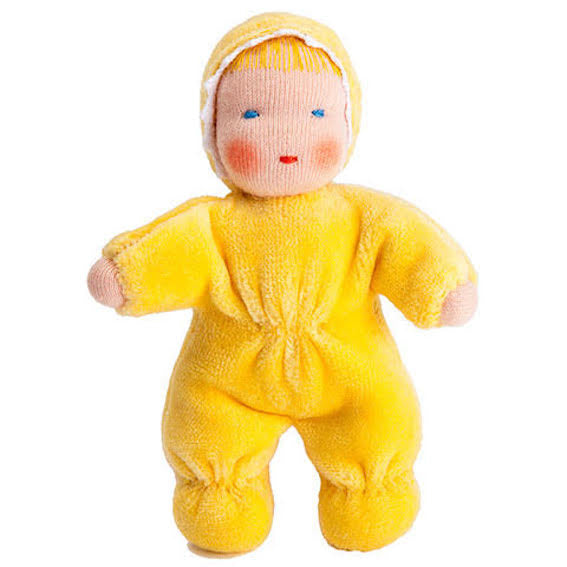 Small Yellow Waldorf Doll
