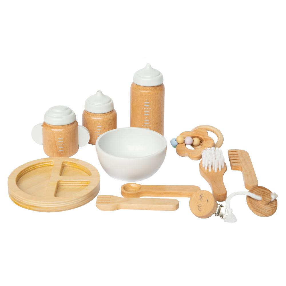 Make Me Iconic Wooden Doll Accessories Set
