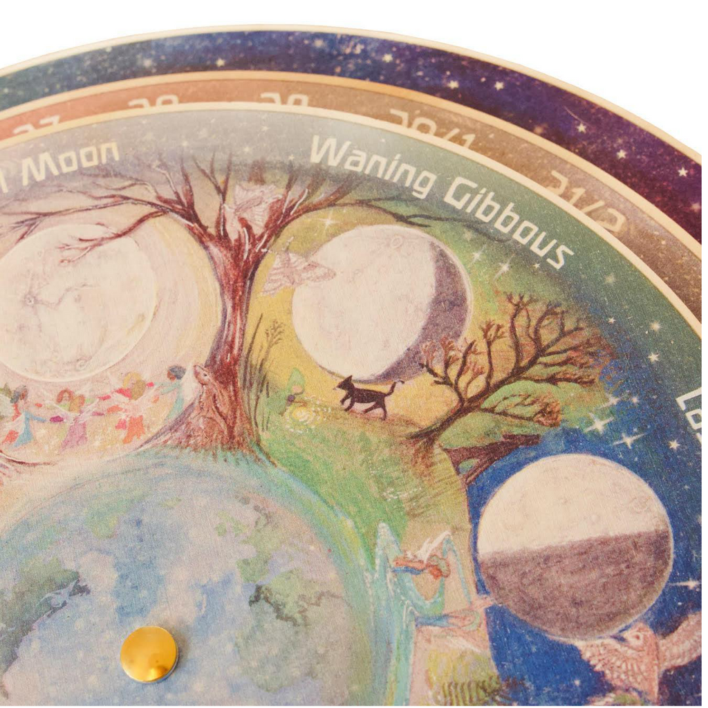 Waldorf Family Phases of the Moon Perpetual Calendar