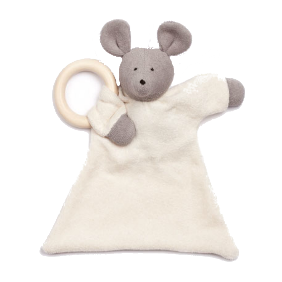 Organic Mouse Blanket Teether