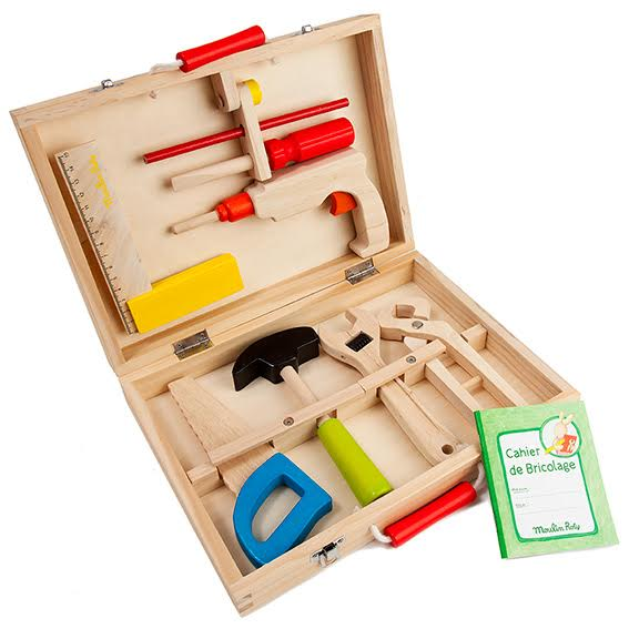 Moulin Roty Toddler Tool Set