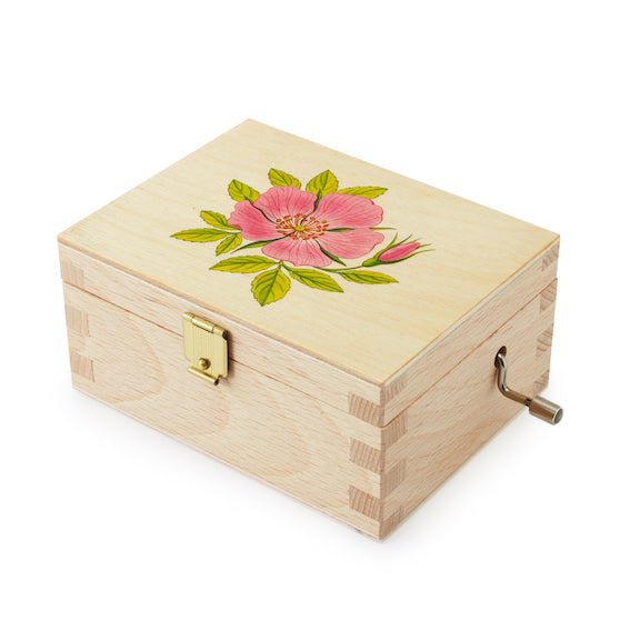 Wild Rose Music Box