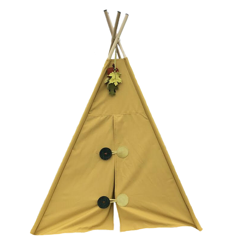 Manimal Mustard Tent with Geometric Closures