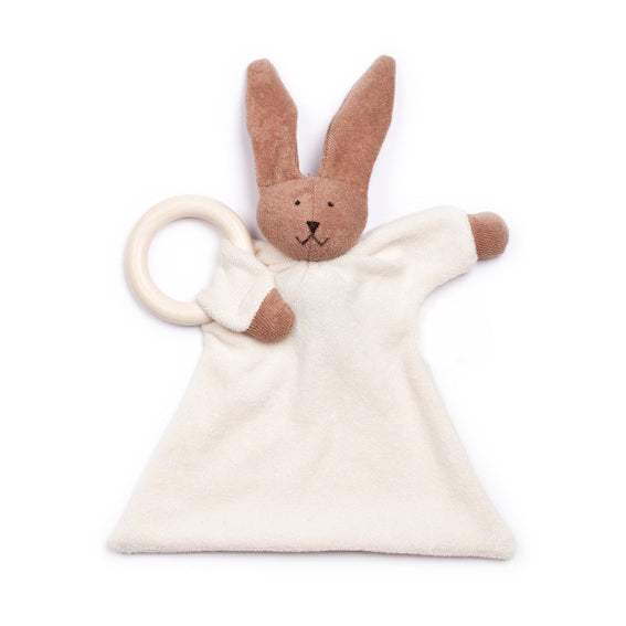 Organic Rabbit Blanket Teether