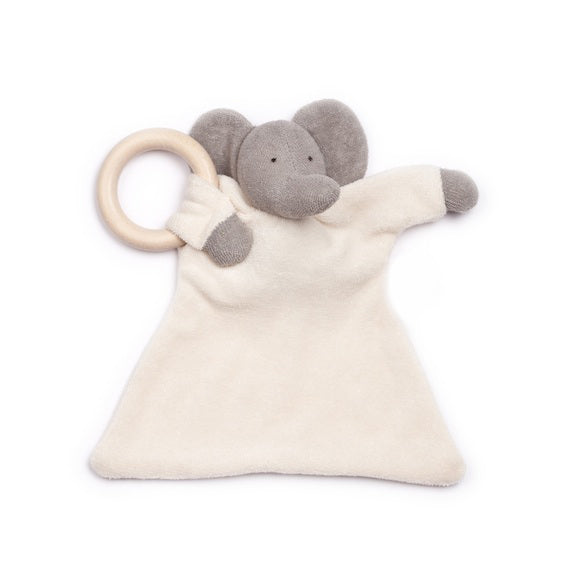 Organic Elephant Blanket Teether