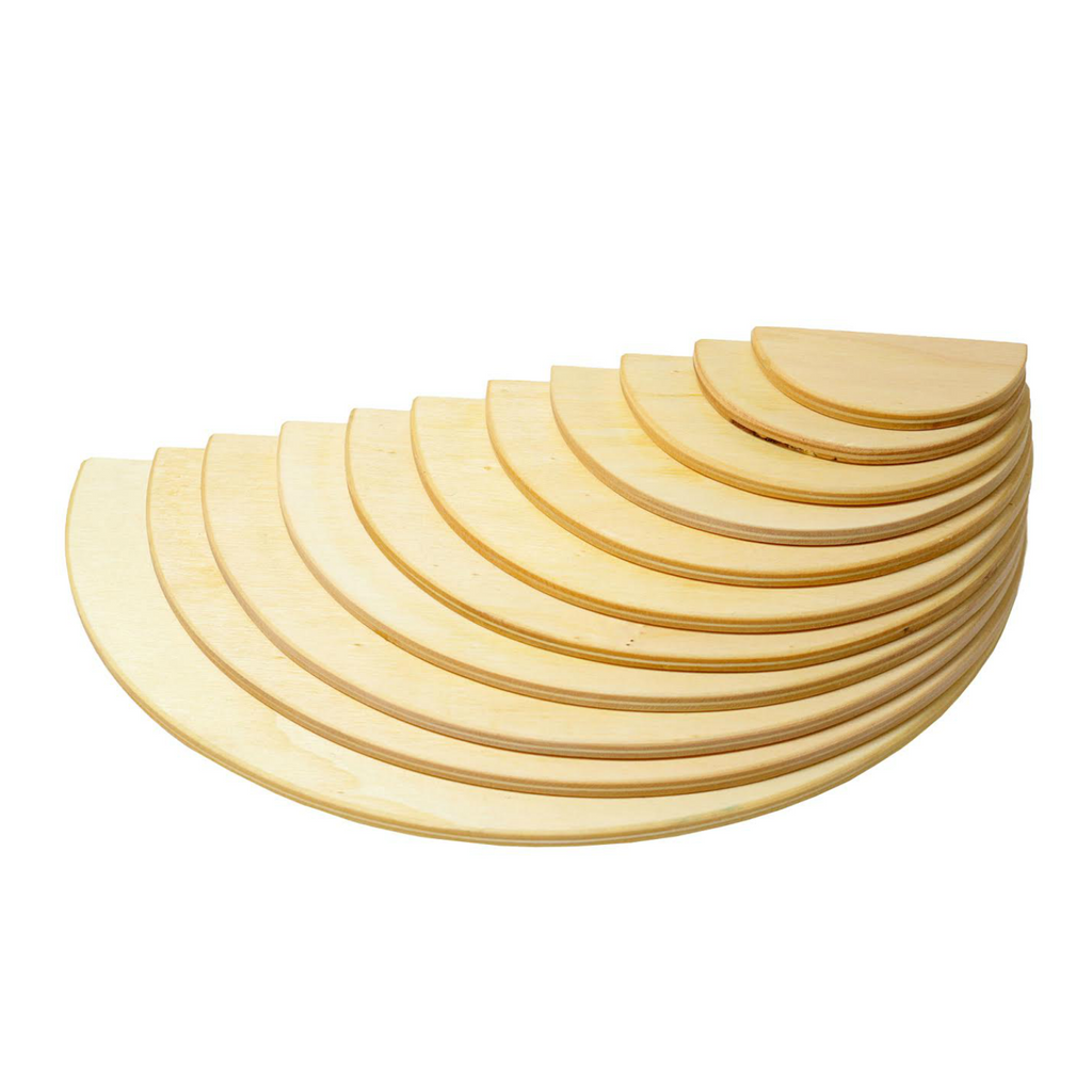 Grimm's Natural Stacking Semicircles