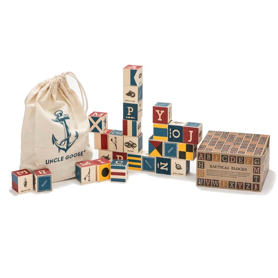 Uncle Goose Nautical Block Set