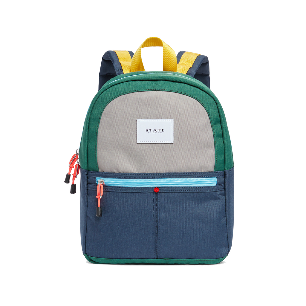 State Navy Mini Kane Backpack