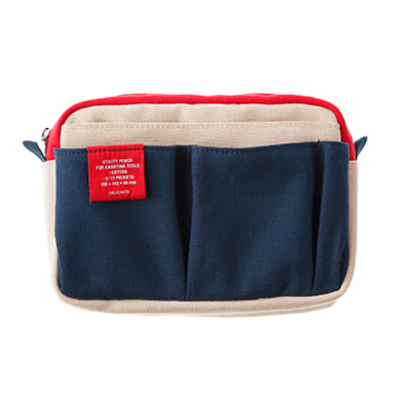 Navy Pencil Case