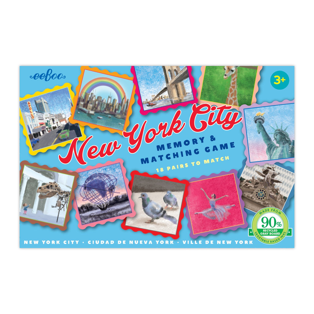 Eeboo New York City Mini Matching Game