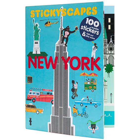New York Sticker Activity Book
