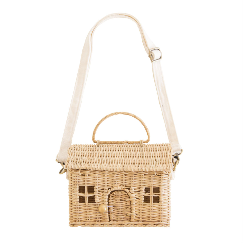 Olli Ella Straw Casa Bag