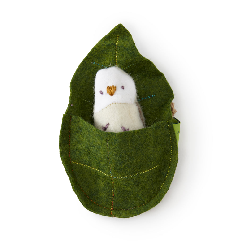 Owl and Leaf Bed Set