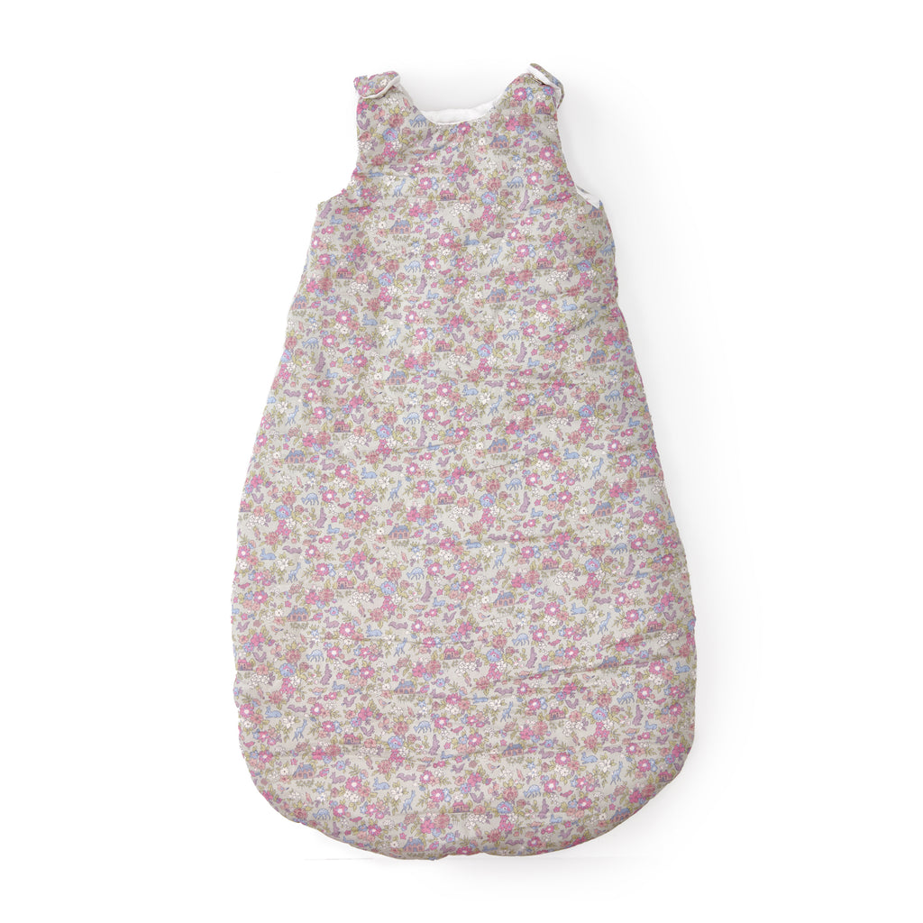 Smidge Handmade Liberty Sleepsack · Pastel Cottage