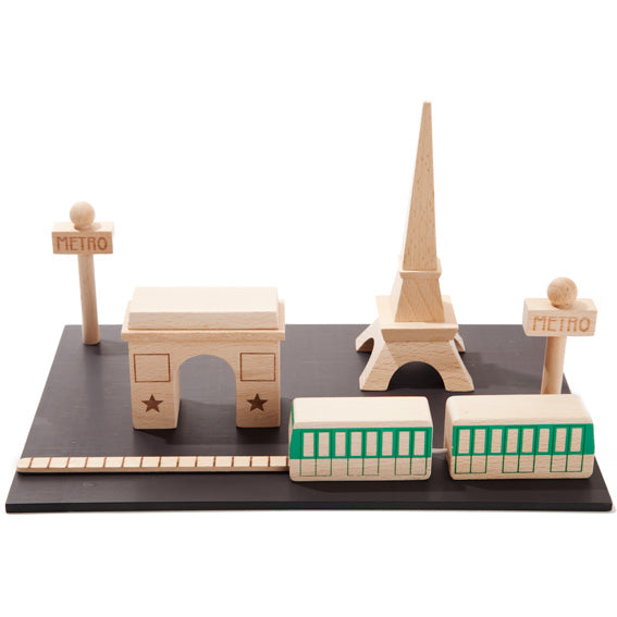 Magnetic Paris City Set