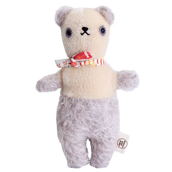 Polka Dot Club Grey and Cream Bear