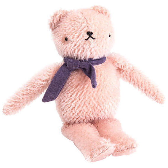 Polka Dot Club Pink Floppy Bear