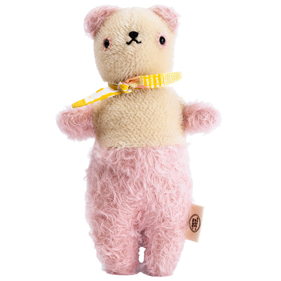 Polka Dot Club Pink and Cream Bear