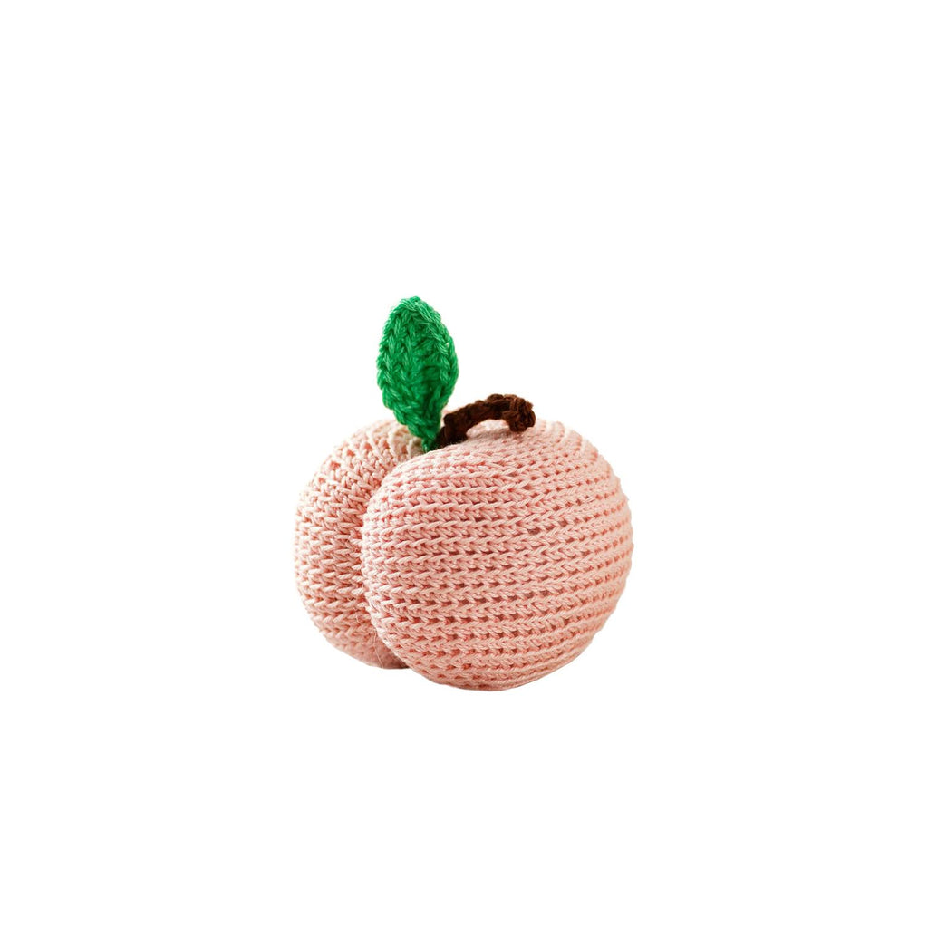 Crocheted Peach