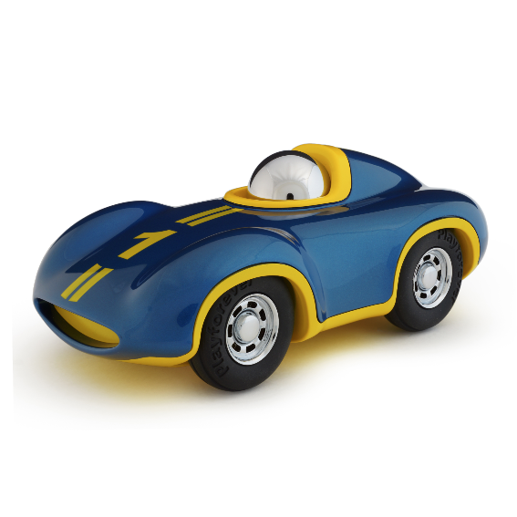 Playforever Blue Mini Speedy Race Car